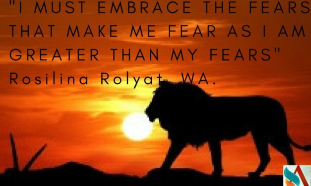 """The Poem – Night and Day – """"I MUST EMBRACE THE FEARS THAT MAKE ME FEAR AS I AM GREATER THAN MY FEARS"""""""