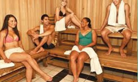 A BRIEF RELAXING SAUNA CHAT – IT'S A HEALTH AND FITNESS THING…